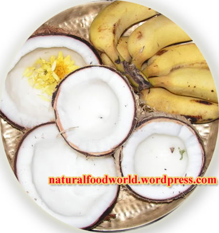 இயற்கை உணவின் மகத்துவத்தை இறைவன் நமக்கு உணர்த்திய விதம் Coconutandbanana
